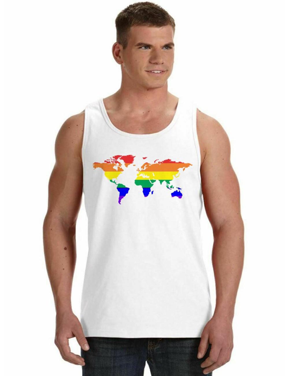 Regata Masculina LGBT Mapa Orgulho Gay ES_155