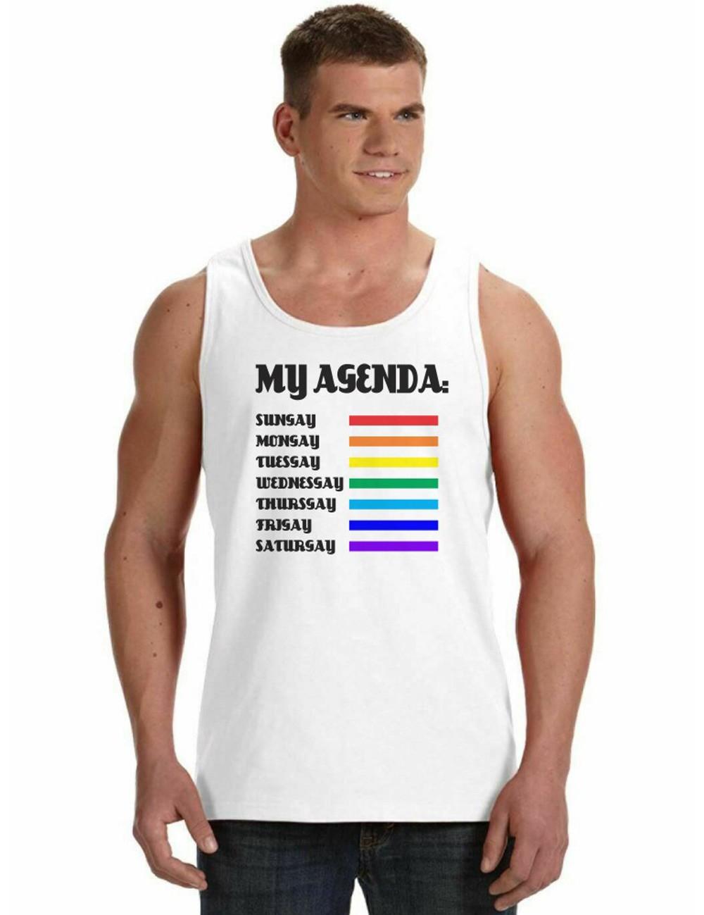 Regata Masculina LGBT My Agenda Gay ES_156