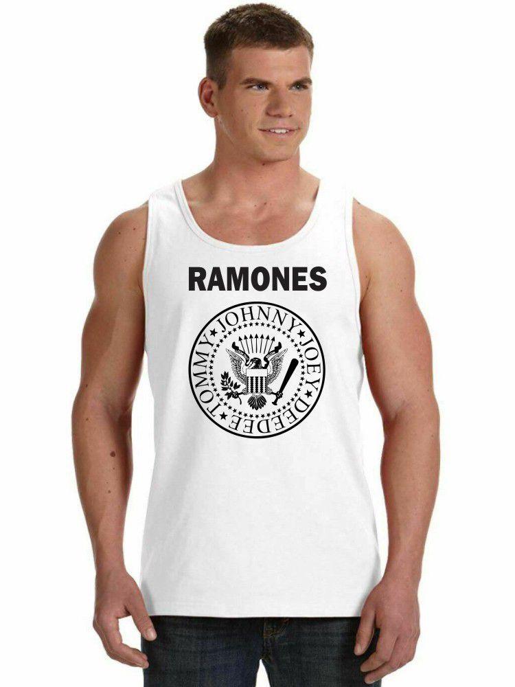Regata Masculina Ramones Logo ES_068