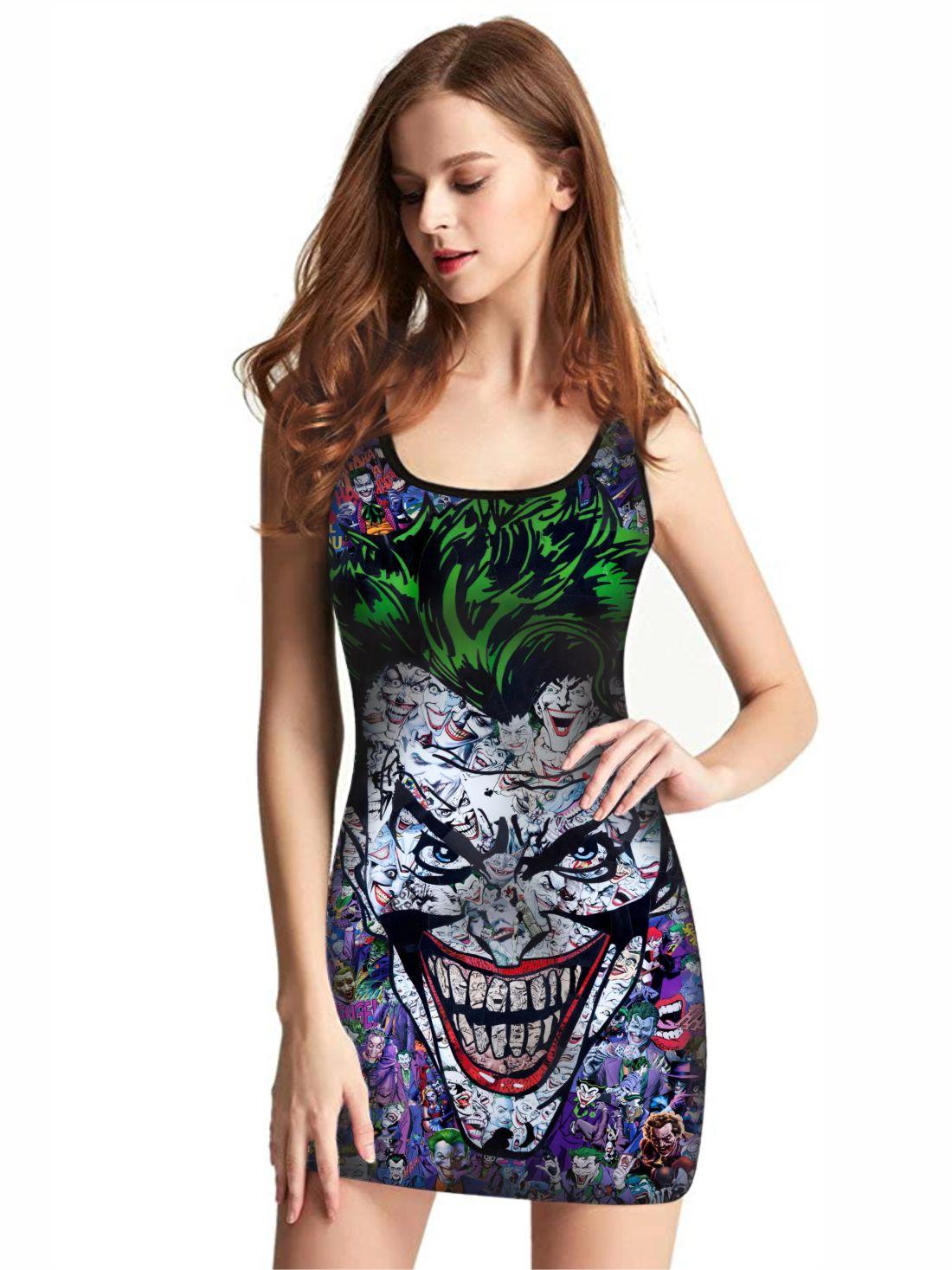 Vestido Feminino Full Printed Coringa FP_033