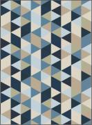 Quadro Geométrico Blue