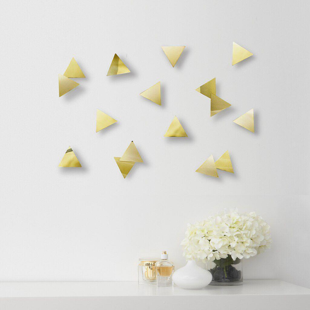 Adorno de Parede Confete Triângulo - Umbra