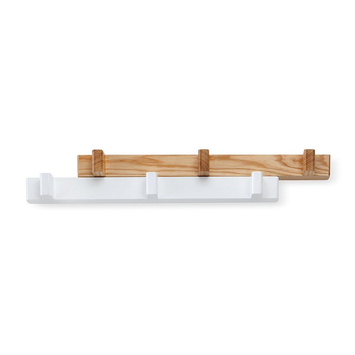 Cabideiro / Cabide de Parede 6 Ganchos Switch Branco - Umbra