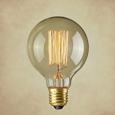 Lâmpada Retrô de Filamento de carbono - E27 - G95