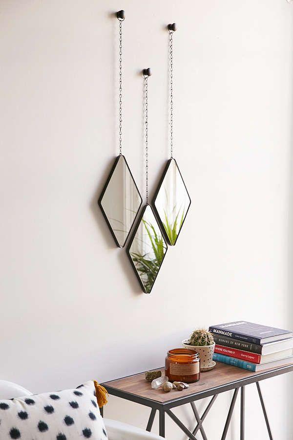 Espelho com Moldura Dima Preto - Umbra
