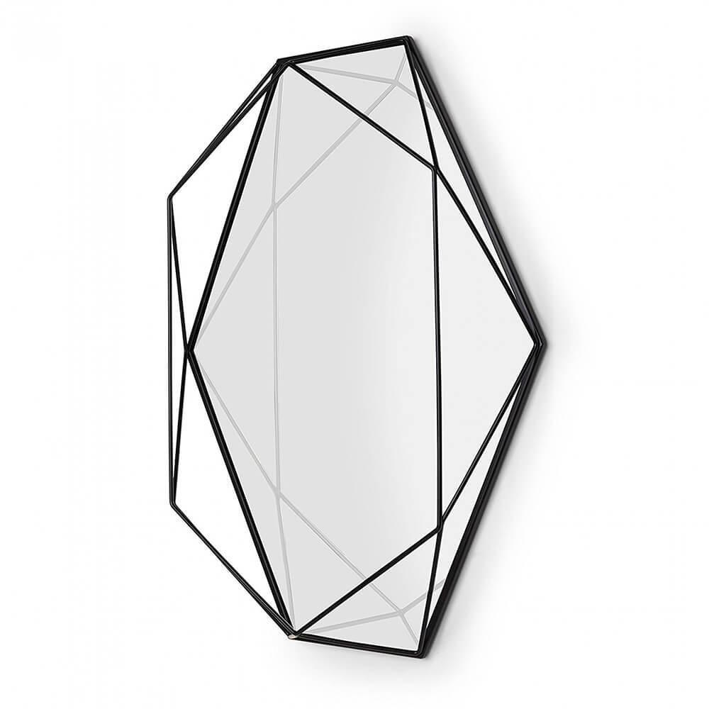 Espelho Prisma preto - Umbra