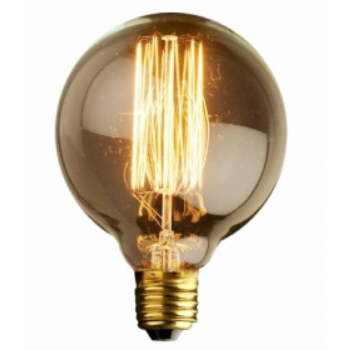 Lâmpada Retrô de Filamento de carbono - E27 - G80