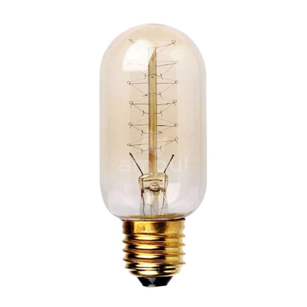 Lâmpada Retrô de filamento de carbono E27 - T45