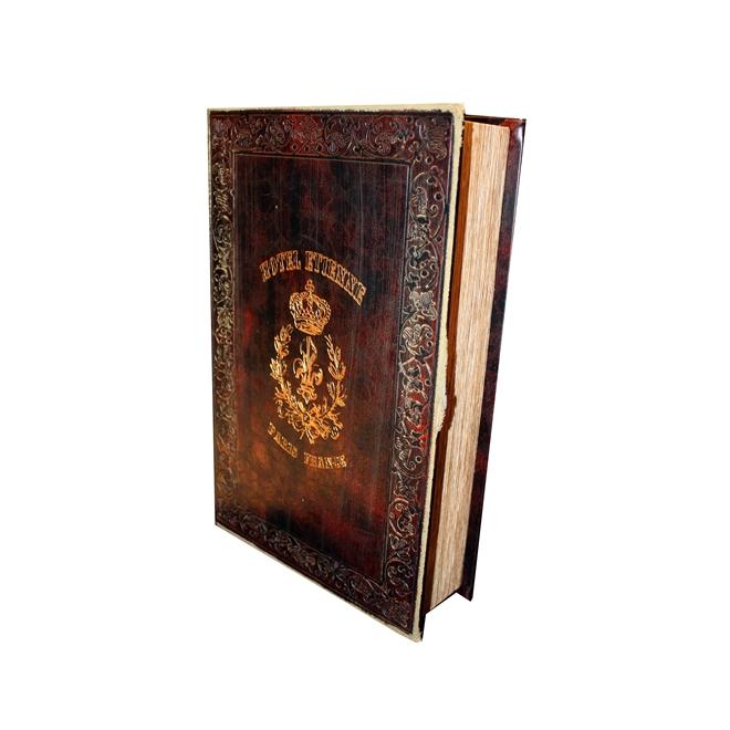Book Box Couro Flor de Liz