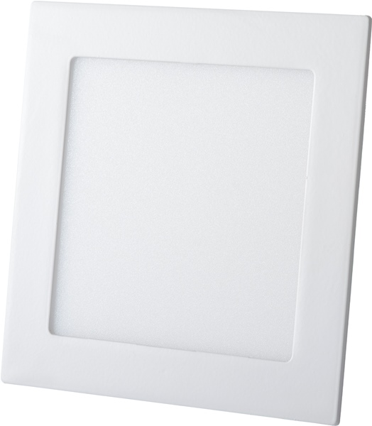 Luminária Plafon LED 15w Embutir Branco Frio Quadrada/Redonda - Luxtek