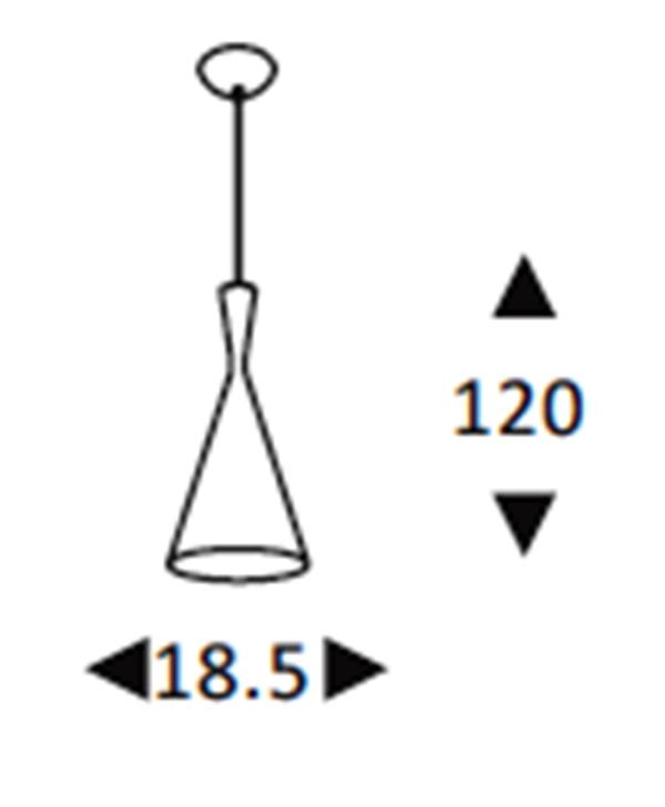 Luminária Pendente Alumínio Preto Fosco Tom Dixon Ref: Lt-390-C - Luxtek