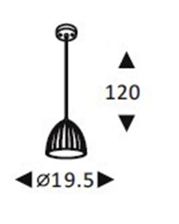 Luminária Pendente Concreto Cimento Design Texturizado Ref: Lt-360CC-C