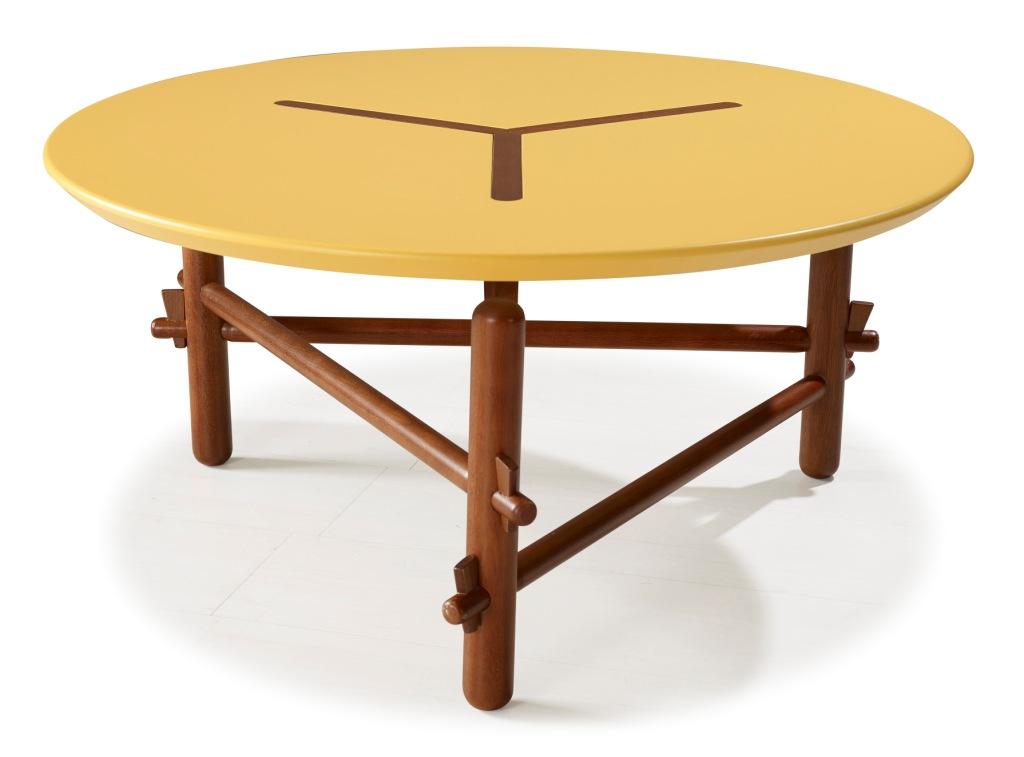 Mesa de Centro Redonda Twist