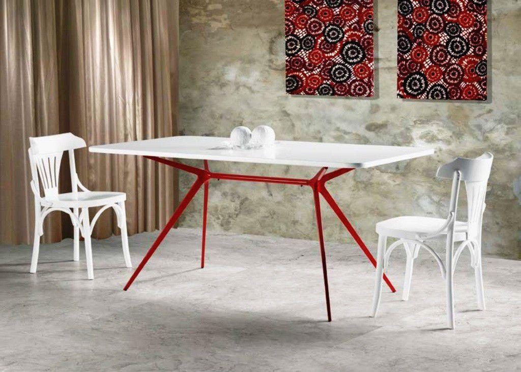 Mesa de Jantar Retangular Klimt 160 - Fora de Linha