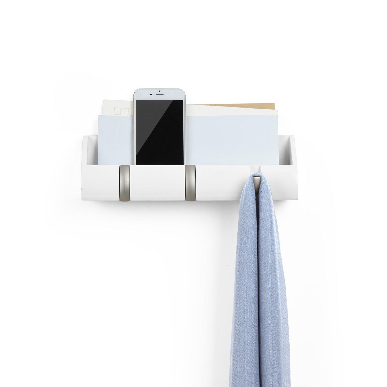 Porta-chaves e Organizador Cubby Mini Branco - Umbra