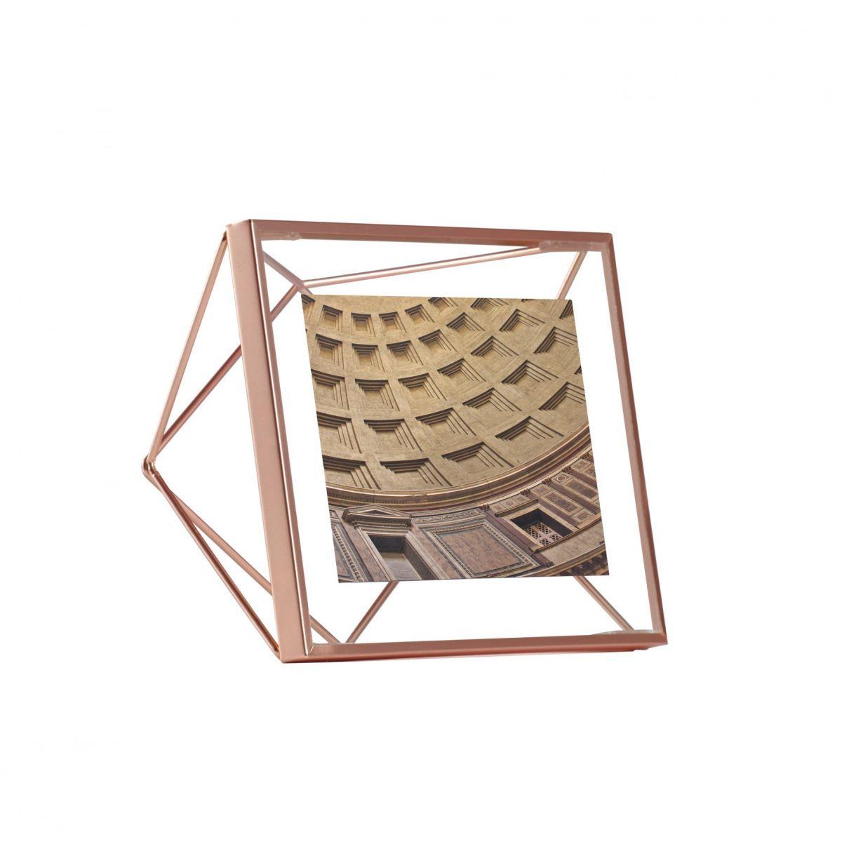 Porta Retrato Prisma Cobre - Umbra