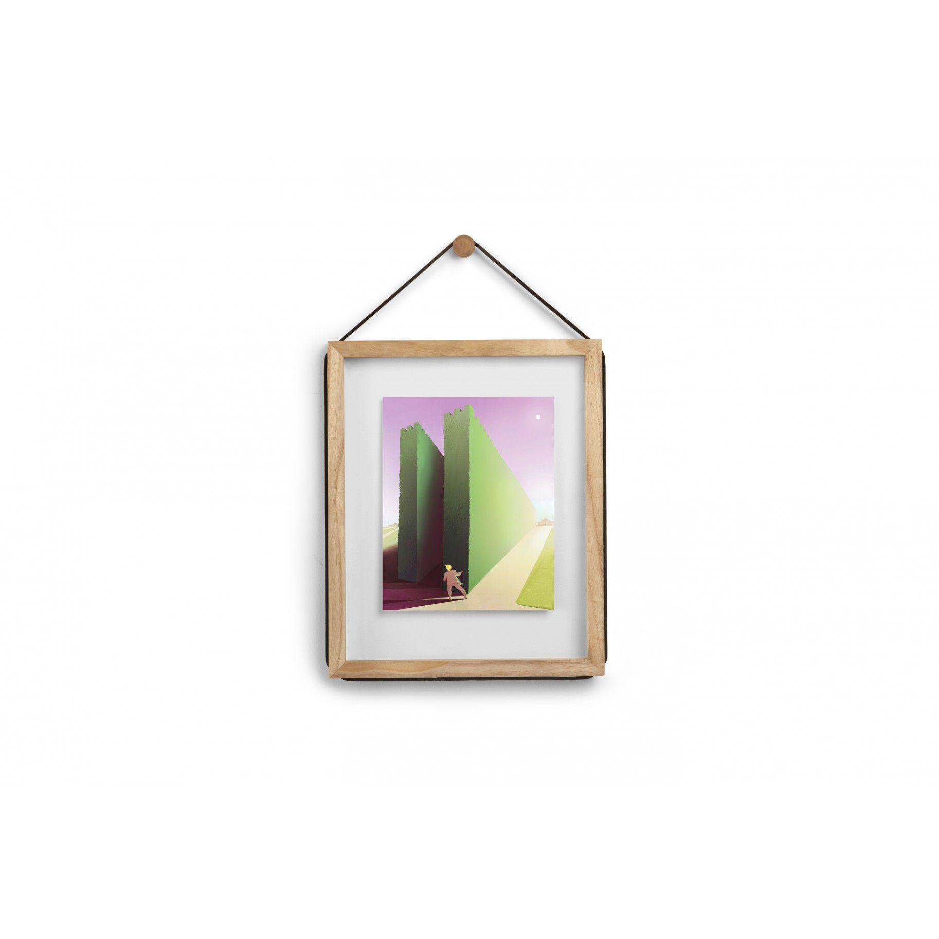 Porta Retrato Corda Foto 20x25 cm Natural - Umbra