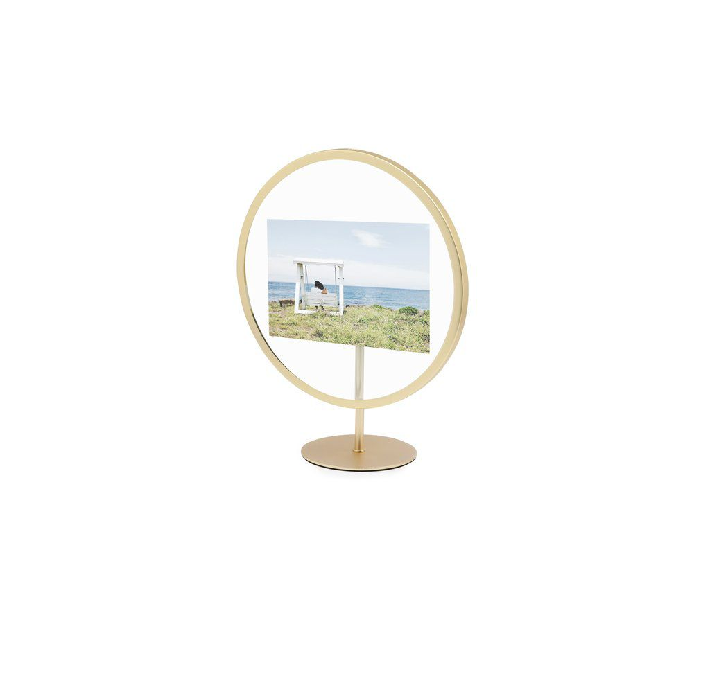 Porta-retrato Infinity 13X18cm Fosco Dourado - Umbra