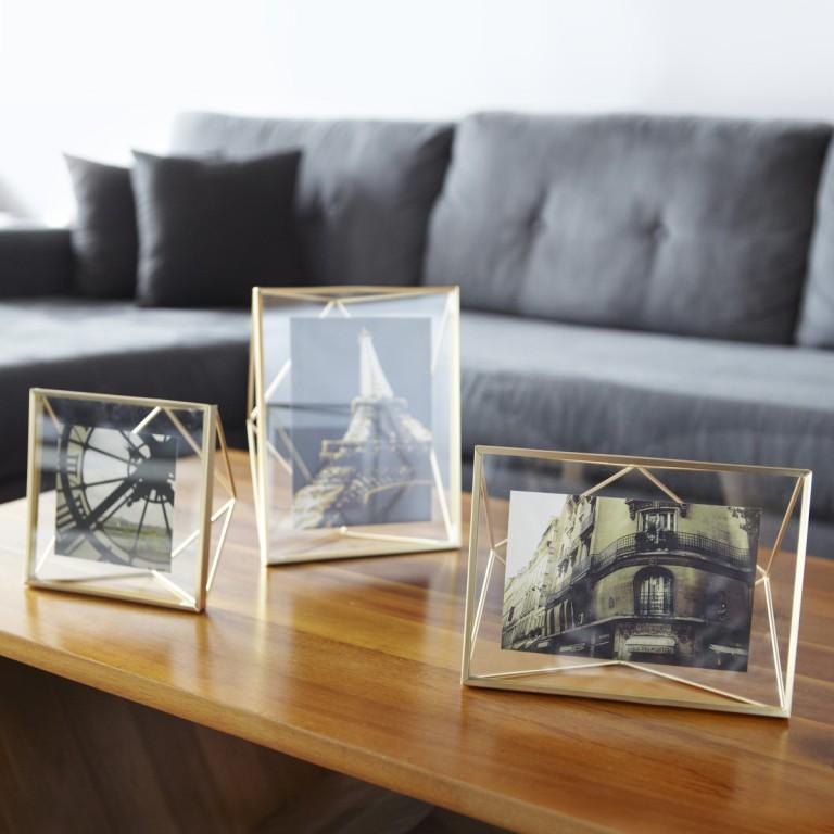 Porta Retrato PRISMA Dourado - Umbra