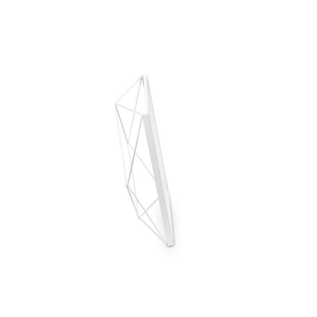 Porta-retrato Prisma Branco de 10x15cm - Umbra