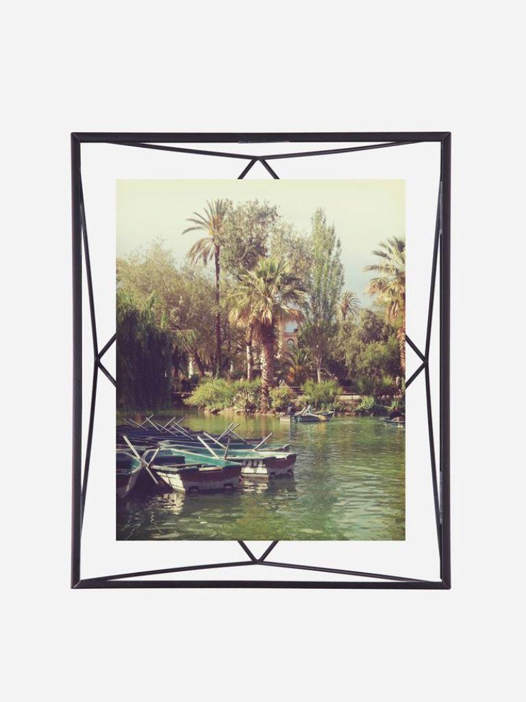 Porta Retrato prisma Preto 10x15cm - Umbra