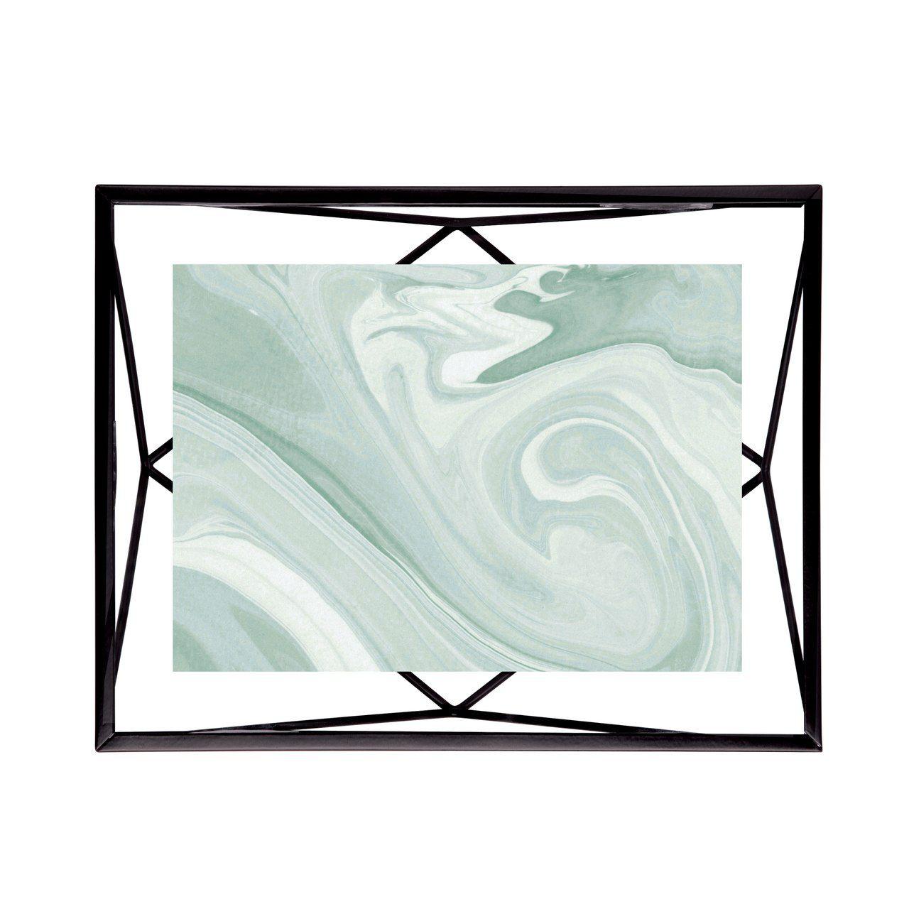 Porta-retrato Prisma Preto 10x15cm - Umbra