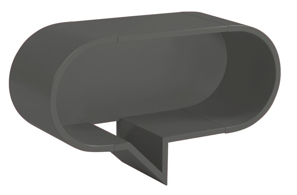 Prateleira Cartoon Oval