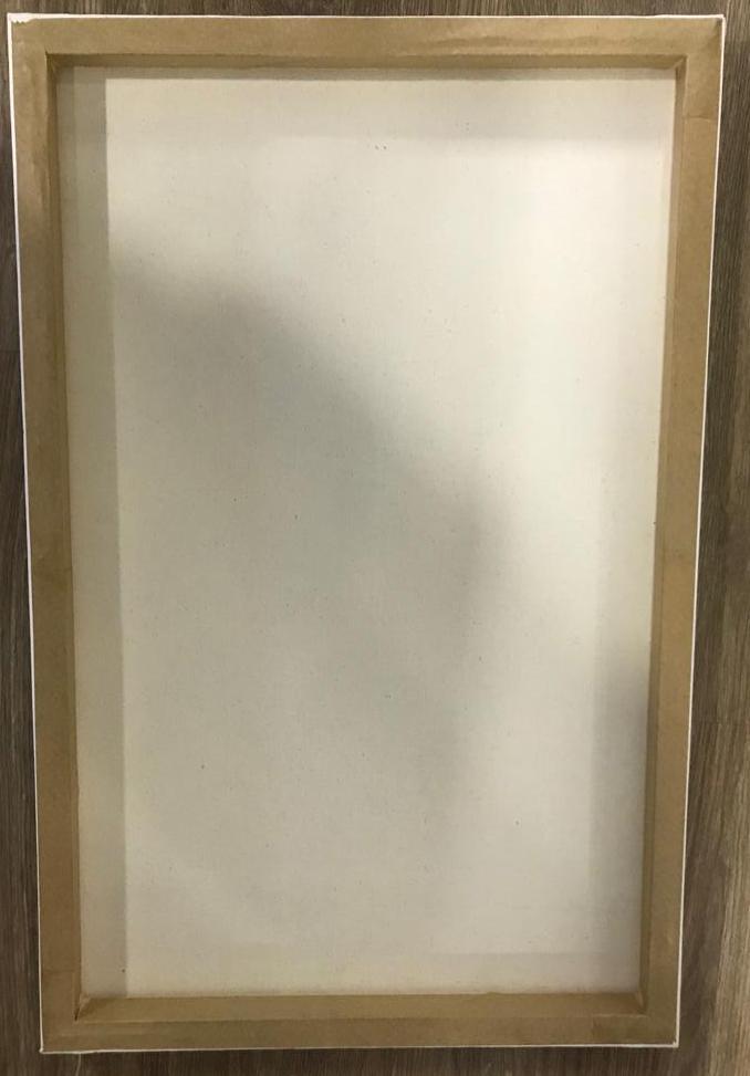 Quadro Decorativo em Canvas Chevron