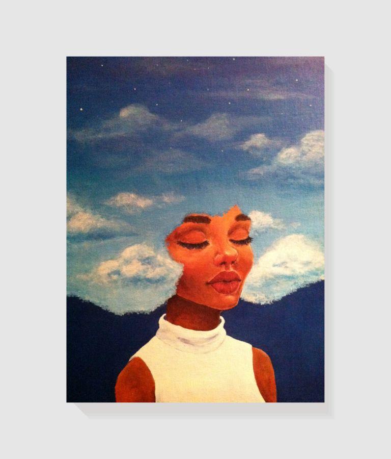 Quadro Decorativo em Canvas Cloud Dreams