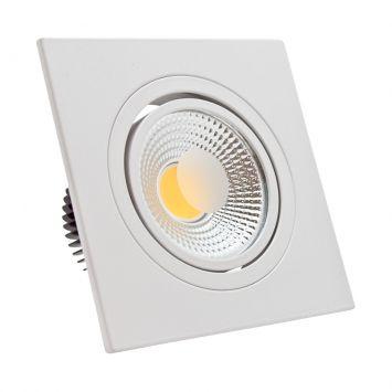 Spot 5W LED COB 4000k Quadrado