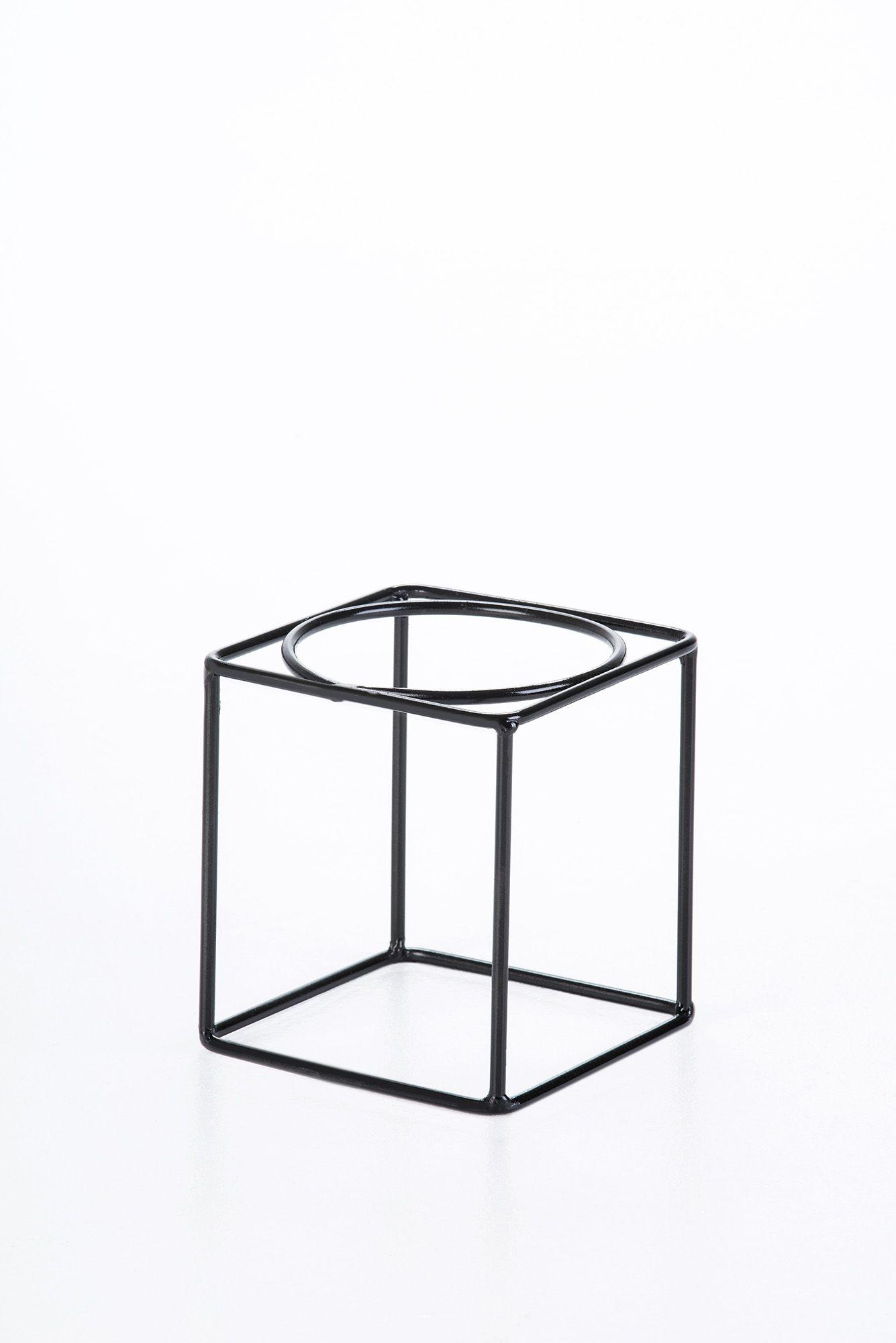 Suporte de vaso quadrado P - Soluza