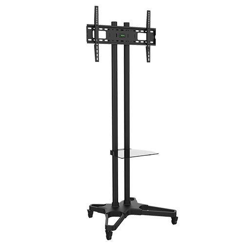 """Suporte Pedestal com rodas e travas para TV LCD/LED, Para tela de 37""""-70"""" FT-6418B - FIXATEK"""