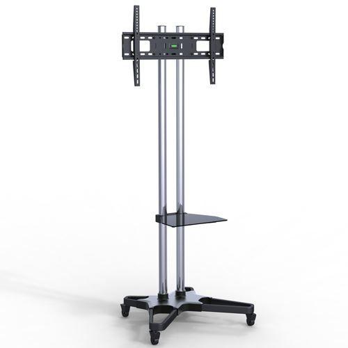 """Suporte Pedestal com rodas e travas para TV LCD/LED, Para tela de 37""""-70"""" FT-6418CR - FIXATEK"""