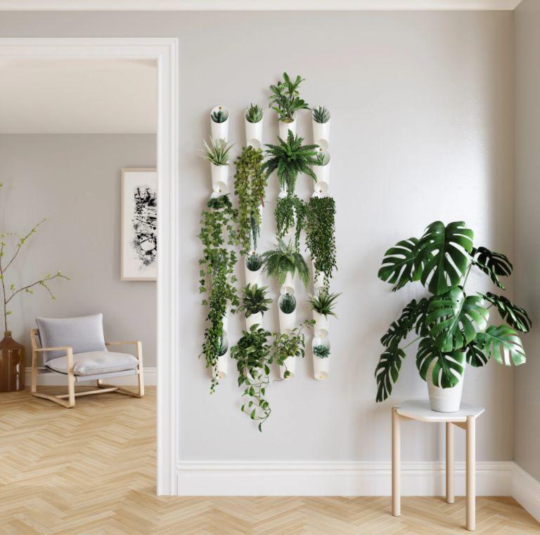Vaso de Parede Floralink (3 un.) Branco  - Umbra