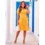 Vestido em Lese Premium Amarelo - Boutique K
