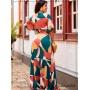 Vestido Longo Estampado - Boutique K