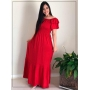 Vestido Longo Vermelho