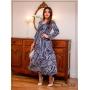 Vestido Midi  Azul - Boutique K