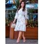 Vestido Soltinho Branco Delicatê - Amanda Bella