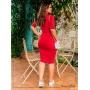 Vestido Tubinho Vermelho - Boutique K