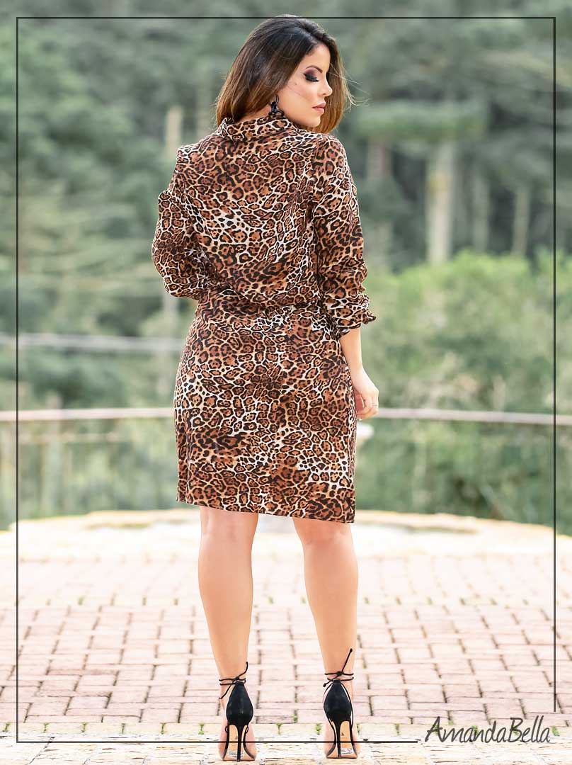 Chemisie Premium Animal Print- Boutique K