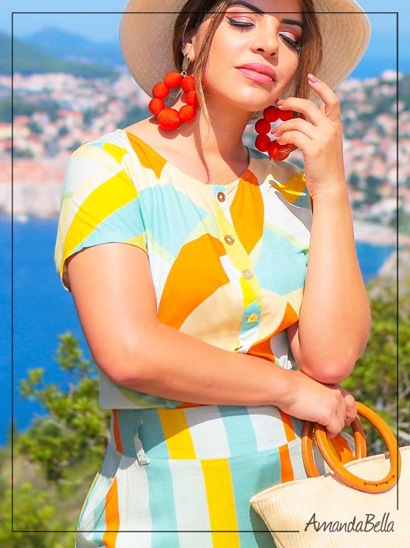 Conjunto Croácia em Viscose Premium - Boutique K