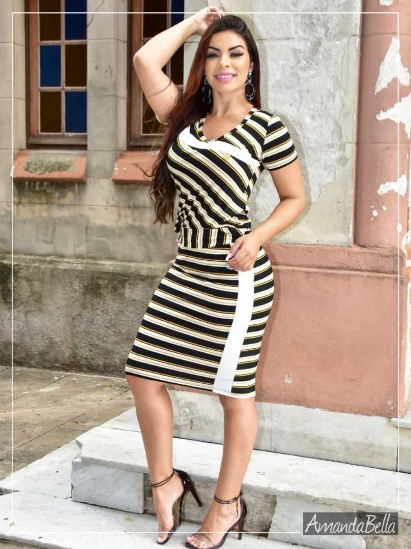 Conjunto Esporte Fino Moda Evangélica 2020 - Amanda Bella