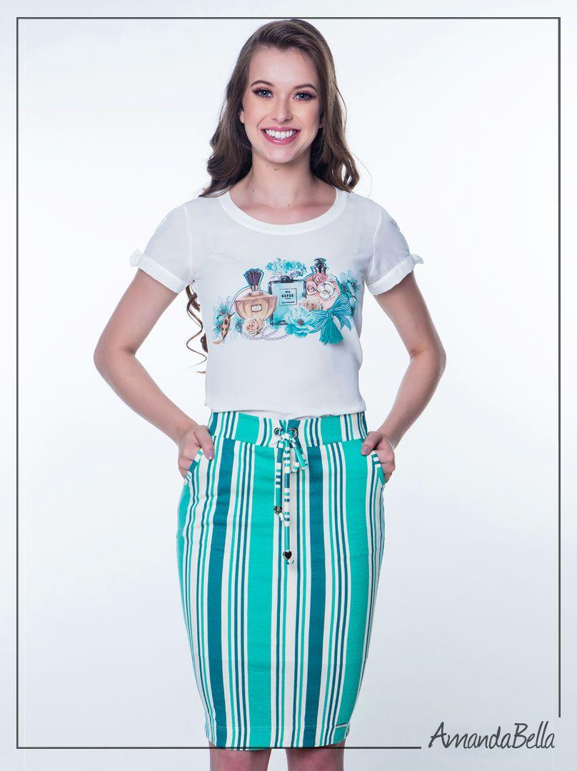 b03da3ef9 Conjunto Saia e Blusa Evangélica Hapuk Compre Online | AmandaBella