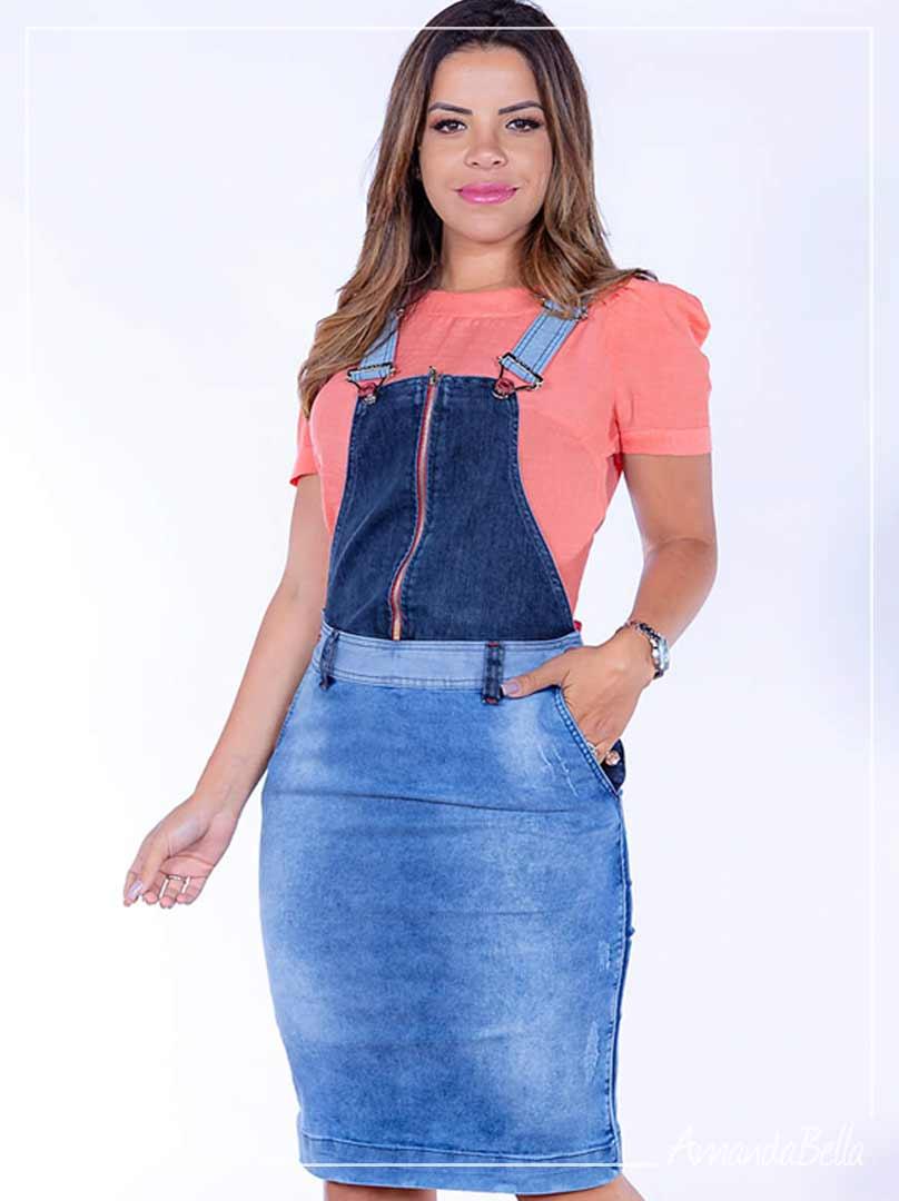 Salopete Jeans Denin - Joyaly