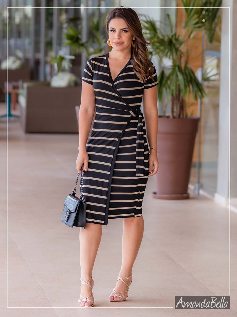 Vestido Assimétrico Chaneel - Boutique K