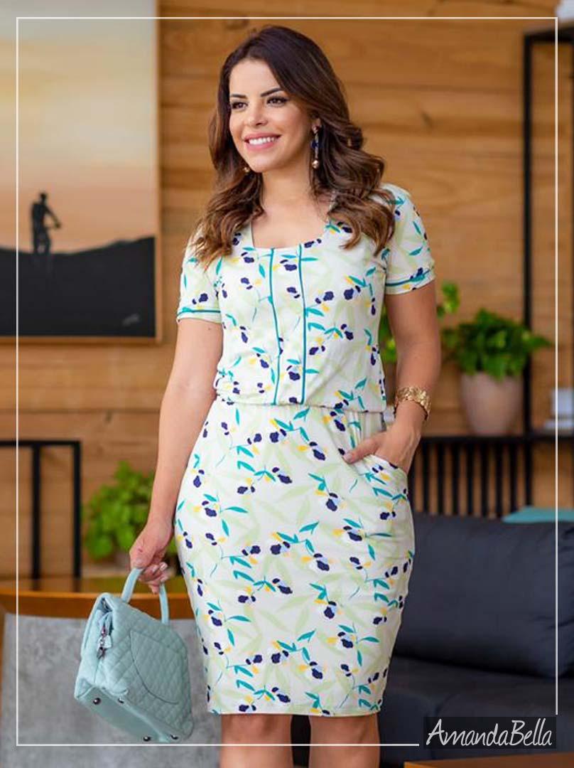 Vestido Casual Estampado Artis -  Boutique K