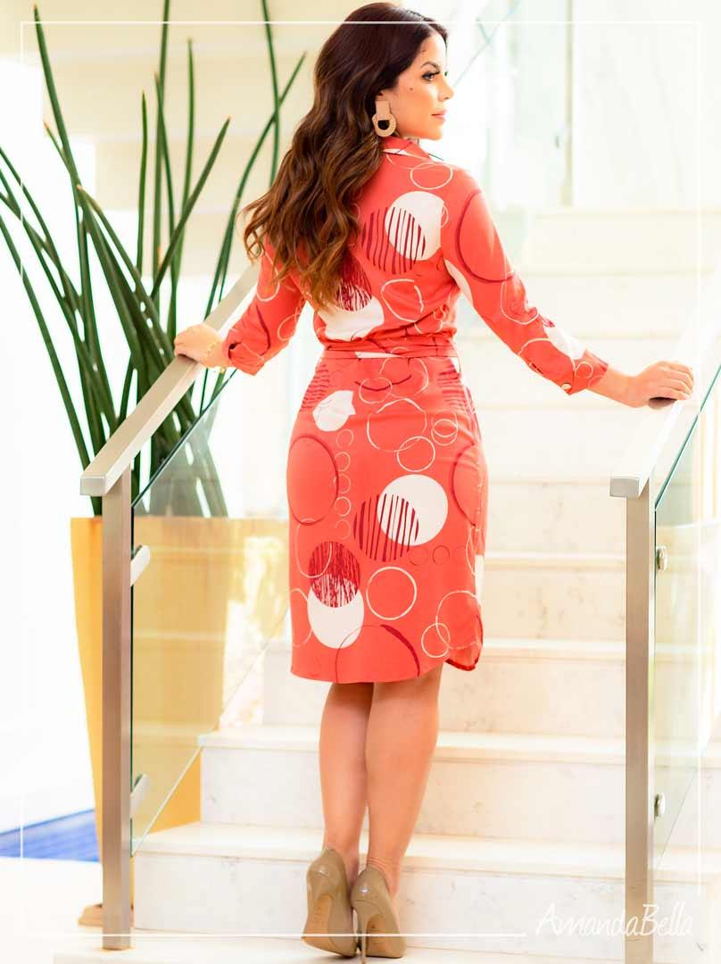 Vestido Chemise Rosê  - Boutique K
