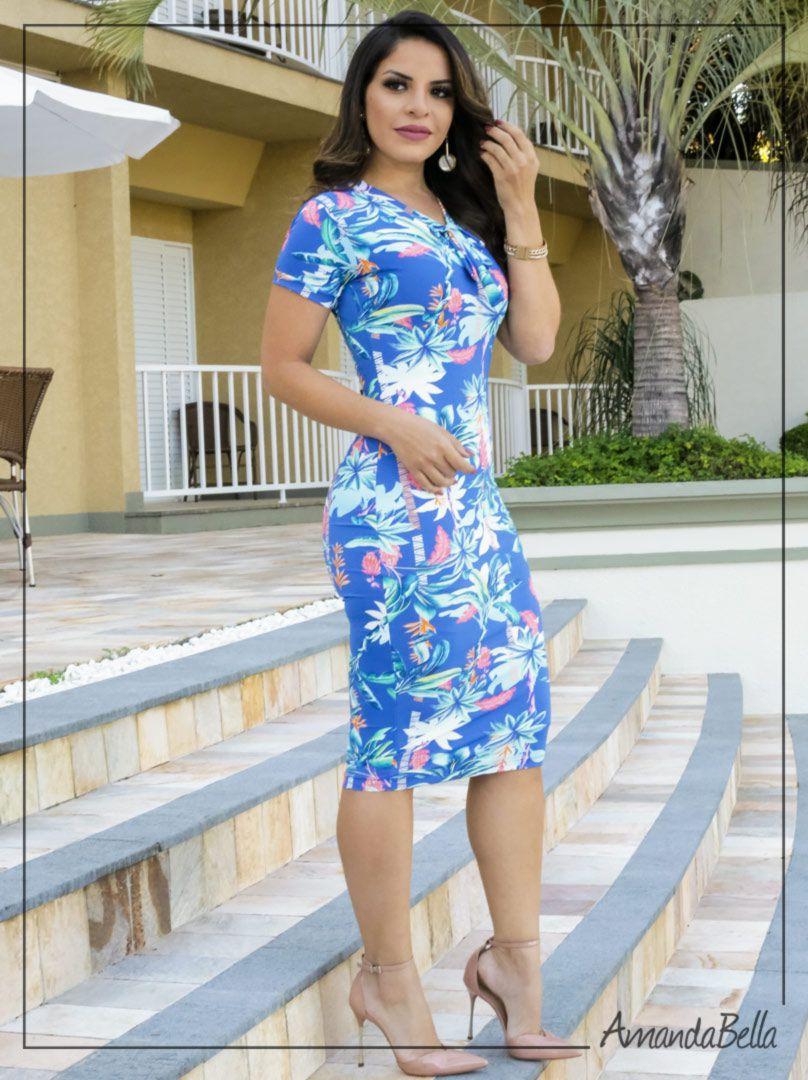 4f41de6e6 Vestido Tubinho p  Festas na Amanda Bella Moda Evangélica