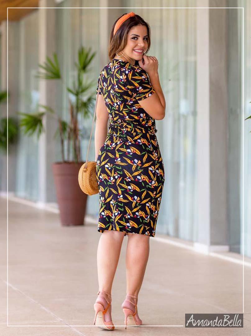 Vestido Estampado Sleeve - Boutique K
